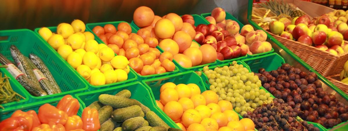Zawsze świeże warzywa i owoce